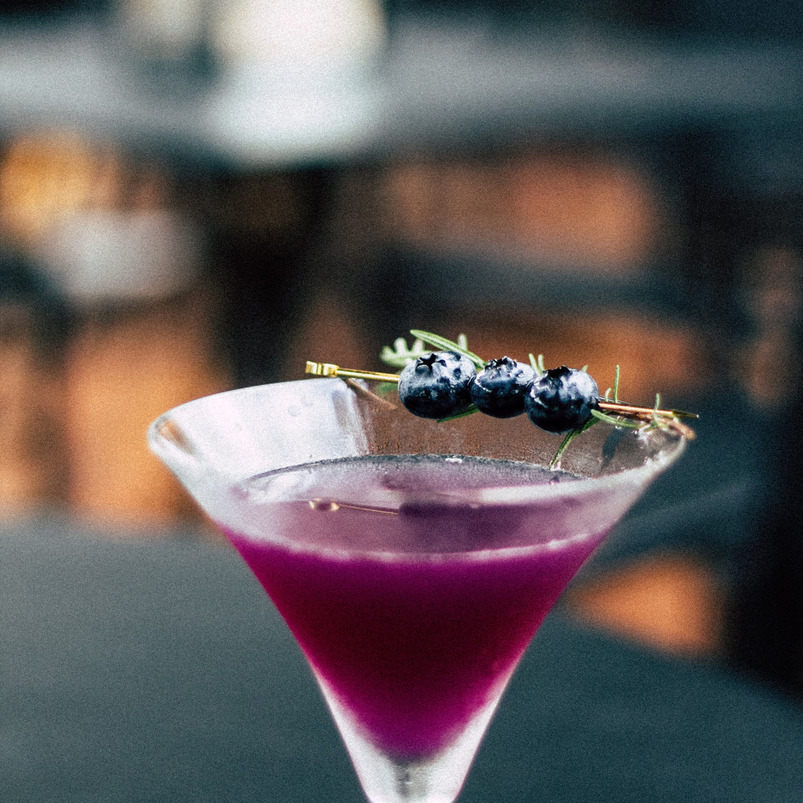 Beautiful high end cocktail