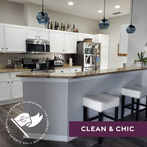 best kitchen renovation nominee - clean and chic