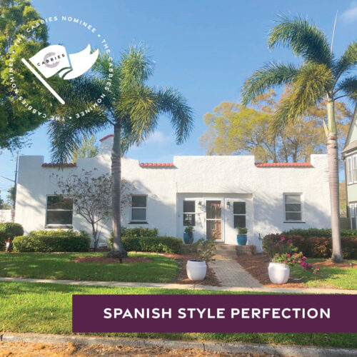 best yard nominee - spanish style perfection