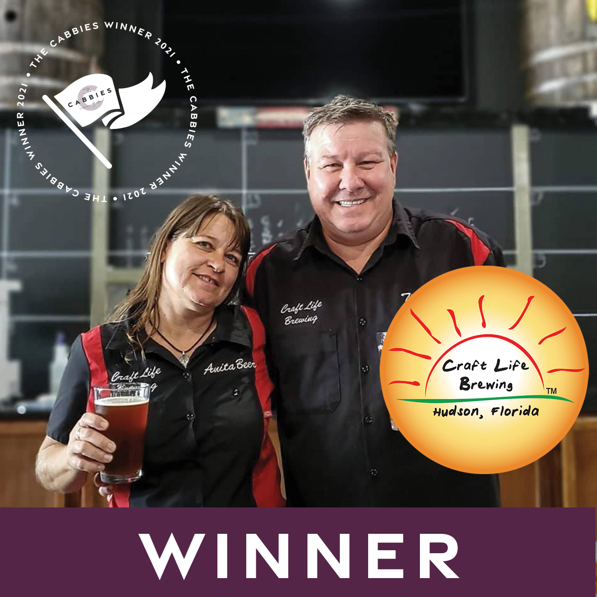 The Cabbies winners - Best Brewery