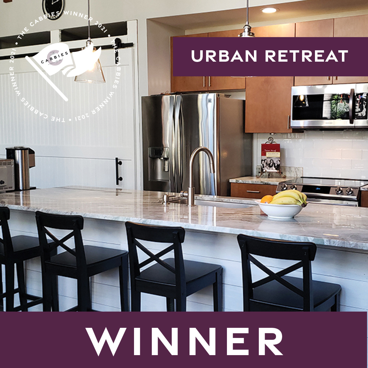 The Cabbies winners - Best Kitchen Remodel