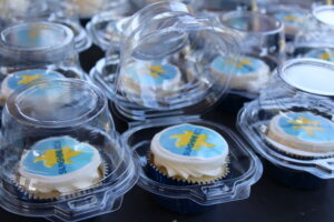 Sunshine Kids cupcakes at the event